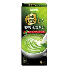 ネスレ 濃い贅沢抹茶ラテ 158円(税抜)