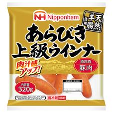 日本ハム あらびき上級ウインナー 368円(税抜)