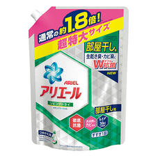 アリエール リビングドライイオンパワージェル 詰替 超特大サイズ 357円(税抜)