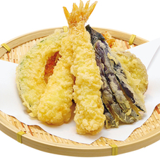 天ぷら盛合せ 398円(税抜)