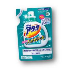 アタック高浸透バイオジェル(詰替用) 148円(税抜)