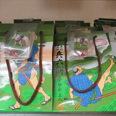 兵六餅 手さげ袋 438円(税抜)