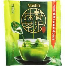 贅沢抹茶 ポーション 185円(税抜)