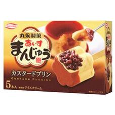 あいすまんじゅう カスタードプリン 438円(税抜)