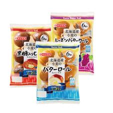 北海道産小麦バターロール 各種 137円(税抜)