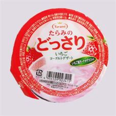 たらみのどっさり いちごヨーグルトゼリー 2個で 178円(税抜)