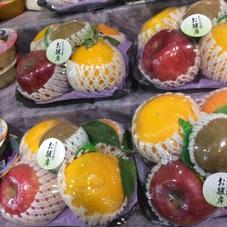 果物お供えセット 598円(税抜)