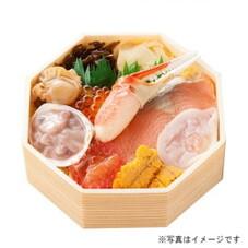 朝市海鮮丼 1,250円(税抜)