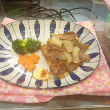 豚生姜焼用(肩ロース肉) 198円(税抜)