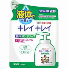 キレイキレイ薬用液体ハンドソープ詰替 108円