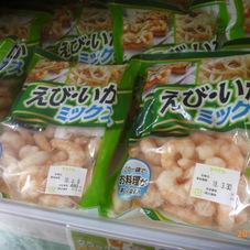 冷凍むきえび&いかミックス 480円(税抜)