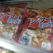 冷凍シーフードミックス 480円(税抜)