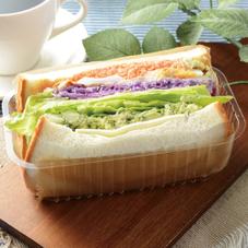 6種野菜とチキンのサンド 395円