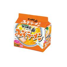 サッポロ一番みそラーメン 258円(税抜)