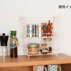 積み重ねバスケット 798円(税抜)