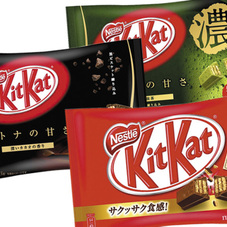 キットカットミニ各種 198円(税抜)