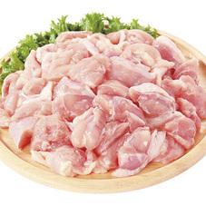若鶏モモ小間切肉※解凍 58円(税抜)