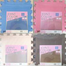 ジョイントカラーマット 9枚組 各色 498円(税抜)