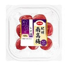 紀州南高梅 しそ漬 378円(税抜)