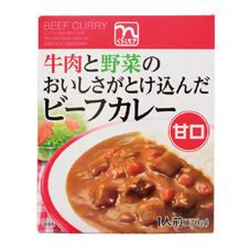 ビーフカレー甘口 79円(税抜)