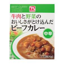 ビーフカレー中辛 79円(税抜)