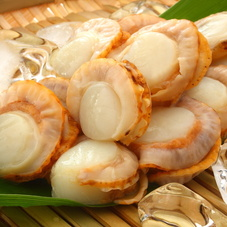 蒸しベビーほたて貝 (解凍・生食用) 500円(税抜)
