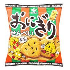 おにぎりせんべい 2個で 148円(税抜)