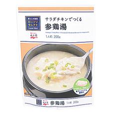 サラダチキンでつくる参鶏湯 148円