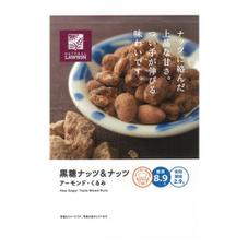 黒糖ナッツ&ナッツ 198円