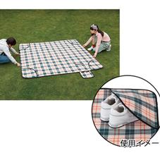 ピクニックラグ収納ポケット付 オレンジ 2,480円(税抜)