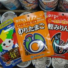 ふりかけ(のりたまご、旅行の友、かつおみりん) 77円(税抜)