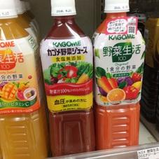 野菜生活100〈各種〉・トマトジュース〈各種〉 148円(税抜)