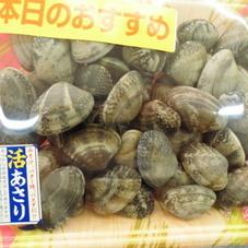 活あさり 78円(税抜)
