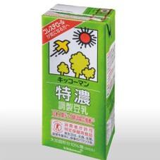 特濃調製豆乳 213円