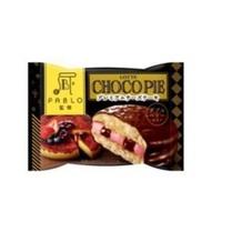 チョコパイ<プレミアムチーズケーキダブルベリー仕立て> 90円(税抜)
