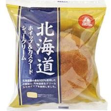 北海道ホイップ&カスタードシュー 77円(税抜)