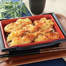 海老と野菜の天重 498円