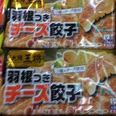 大阪王将羽根つきチーズ餃子 228円(税抜)