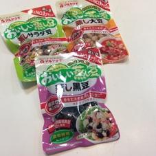 おいしい蒸し豆(大豆.黒豆.サラダ油) 88円(税抜)