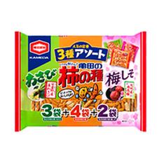 亀田の柿の種・3種アソート 257円(税抜)
