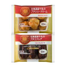 プチシュークリーム・エクレア 187円(税抜)