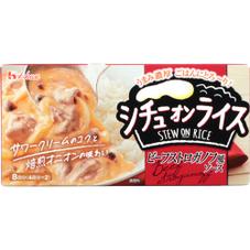 シチューオンライス ビーフストロガノフ風 198円(税抜)