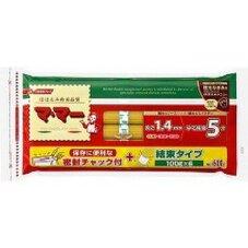 チャック付結束スパゲッティ1.4mm 1.6mm 各 248円(税抜)