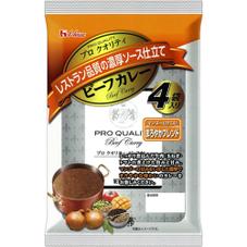 プロクオリティ ビーフカレー4袋入り まろやかブレンド 348円(税抜)