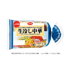 生冷し中華しょうゆ味 158円(税抜)