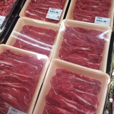 国産牛肉すき焼き用 980円(税抜)
