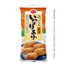 ふっくら味付いなりあげ 10枚(5枚分包×2袋) 158円(税抜)
