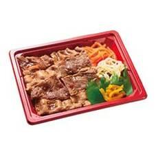牛カルビ丼 324円