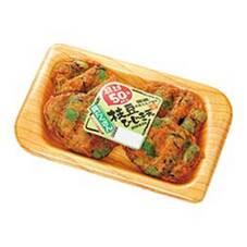 具だくさん枝豆ひじき天 108円