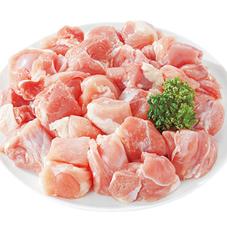 若鶏モモ角切肉※解凍 68円(税抜)